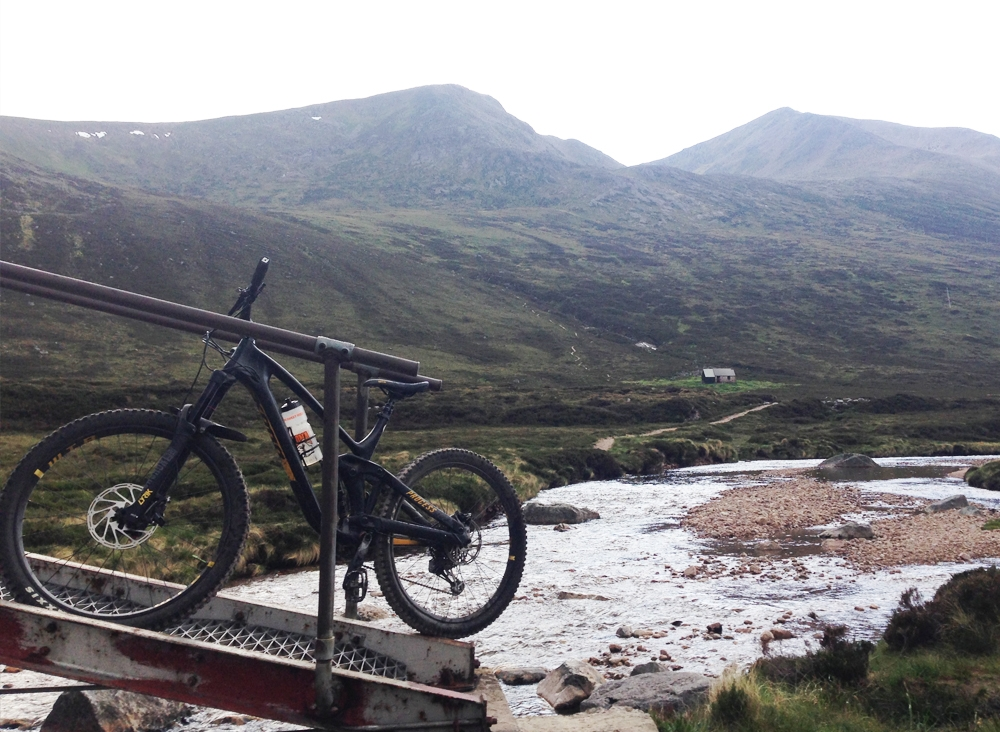 Guided Ride - Into the wild adventures - Cairngorms Devils peak