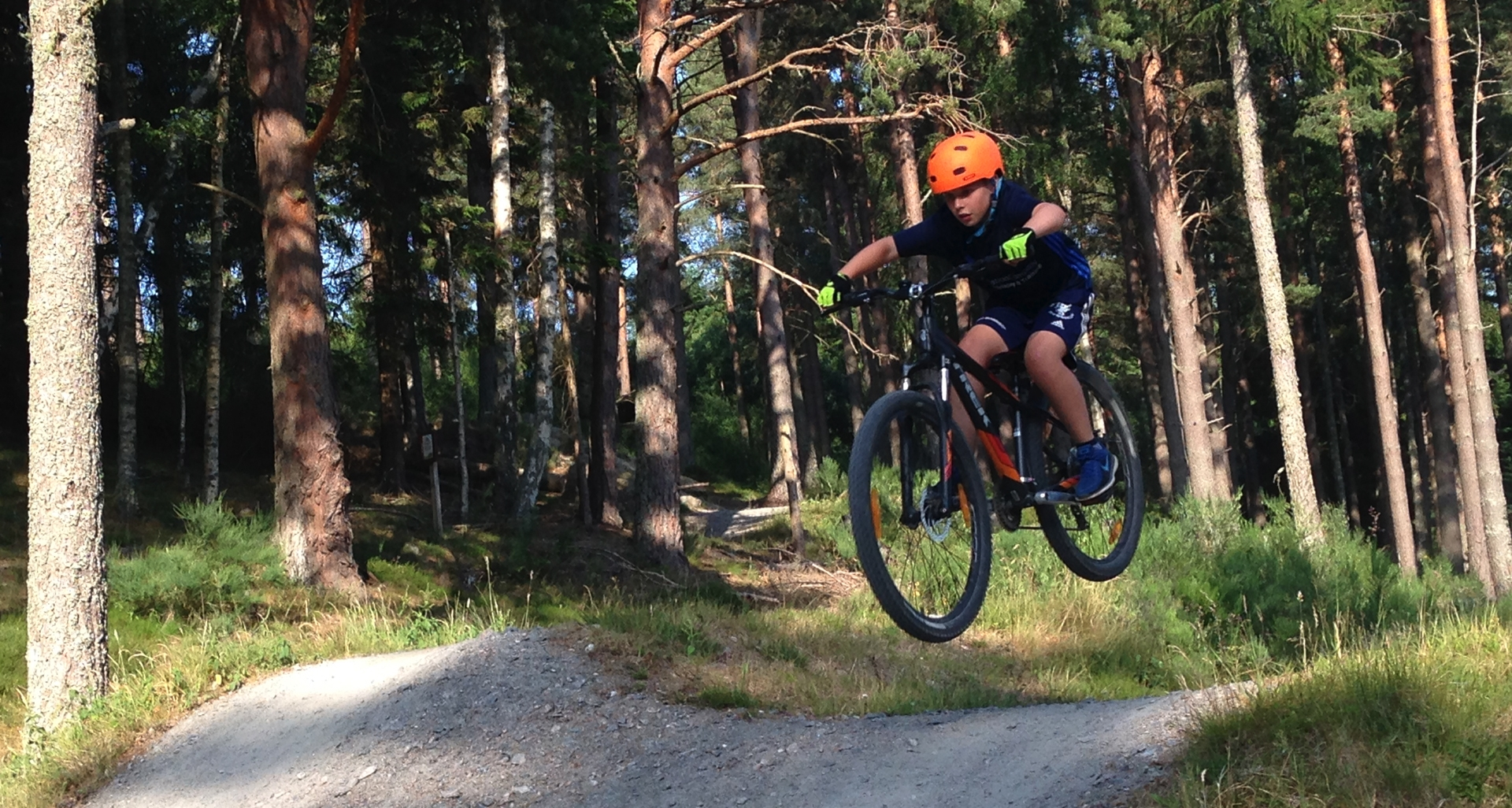 Little RIPAs coaching - Aboyne Bikepark jumps