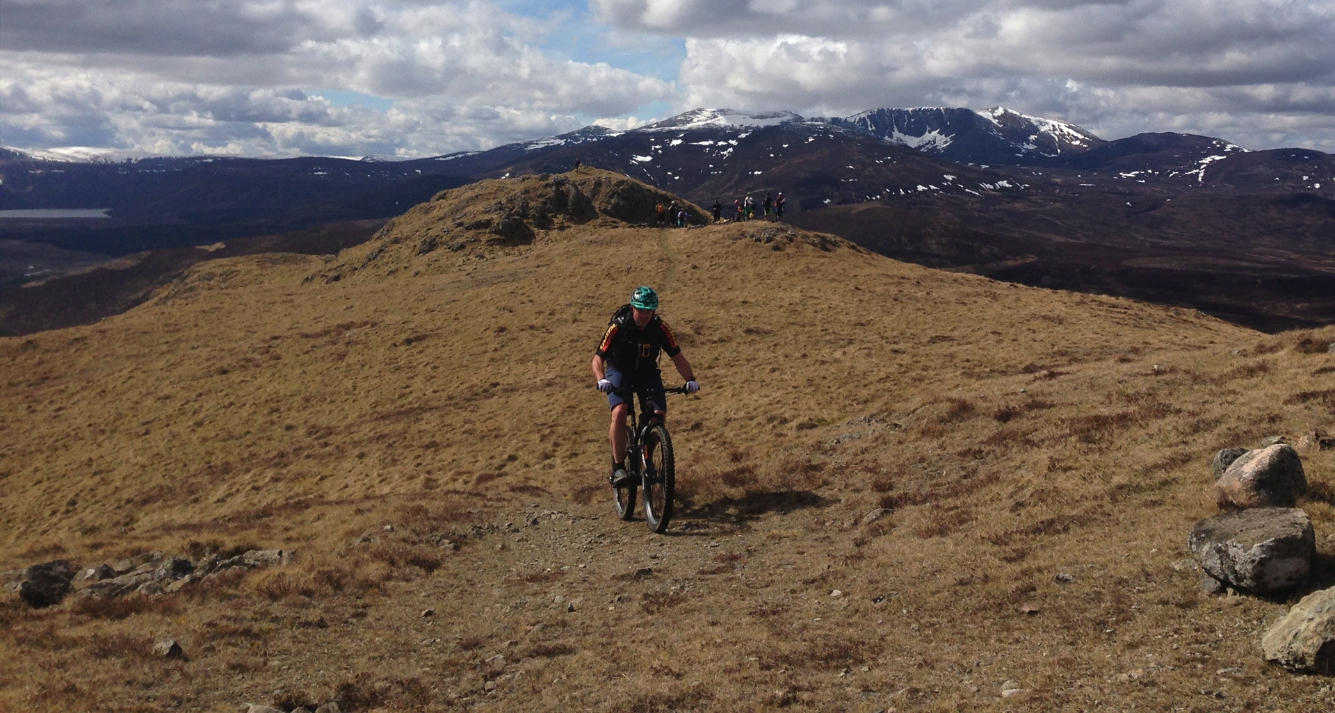 Guided Ride Ballater Green mile
