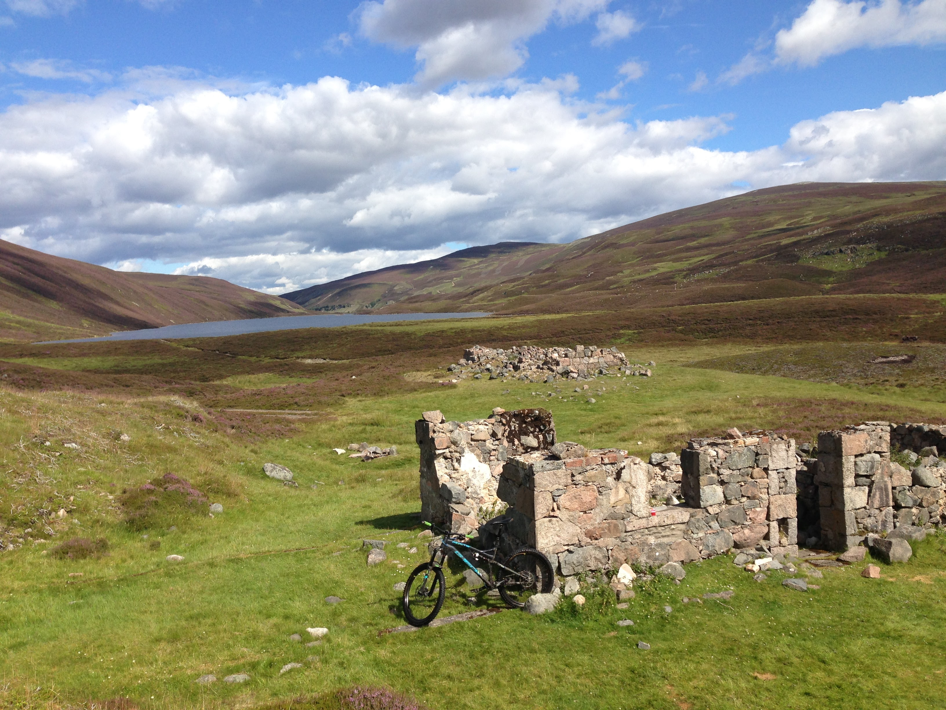 Guided rides to loch builg Donside, Aberdeenshire